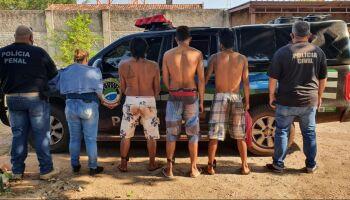 Nove fugitivos do sistema penal são recapturados em Ladário e Corumbá