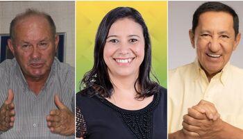 Agricultor, servidora e atual prefeito estão na disputa pelo comando de Anaurilândia