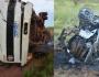 Motorista bate em carreta e morre carbonizado em acidente na MS-162