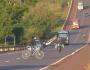 Ciclista de 16 anos morre após ser atropelado na BR-163 em MS