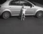 VÍDEO: cachorro é abandonado e tenta voltar para o carro dos donos