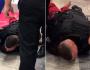 Câmeras registraram início da ação de segurança contra rapaz que morreu asfixiado