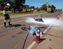 Cantor bate moto em carreta e morre na BR-163