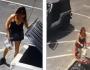 Mulher é presa após ser filmada jogando filhotes no lixo