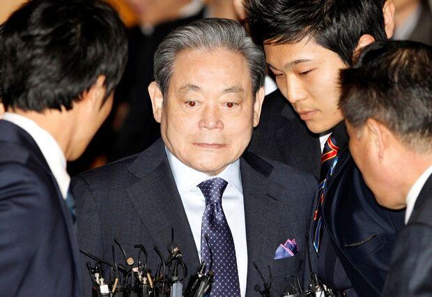Presidente da Samsung morre aos 78 anos