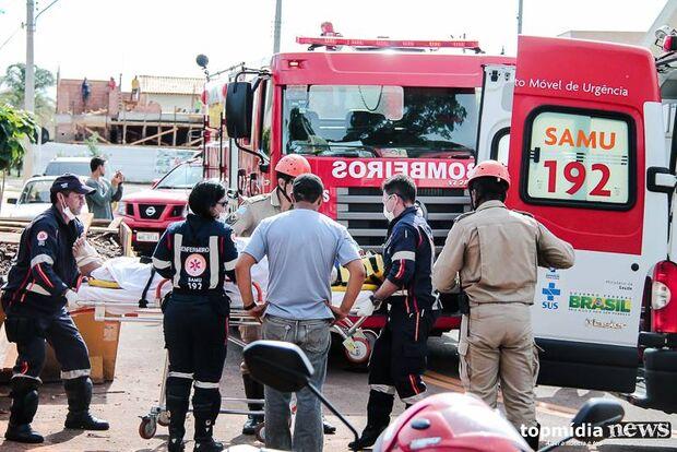 Homem encerra trabalhos em obra e morre dentro de elevador em Campo Grande