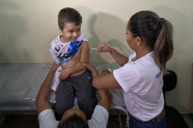Vacina contra pólio está disponível em todos os postos de saúde em Campo Grande