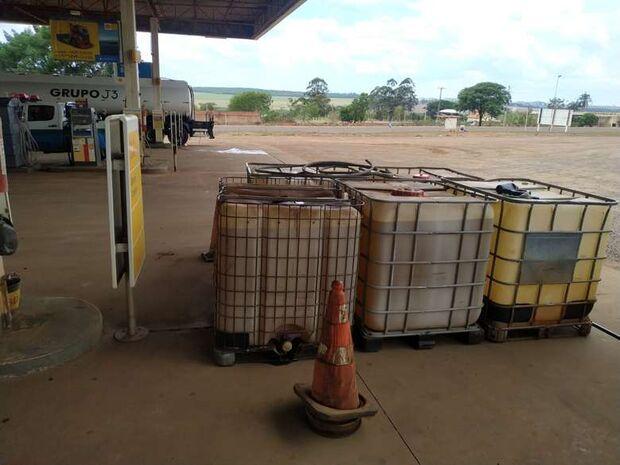 Posto de combustível é autuado por armazenar litros de diesel ilegalmente