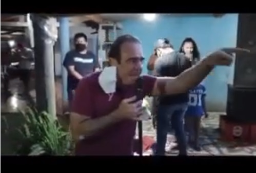 Vídeo: na campanha da esposa, Orro legitima invasão de terra e revolta produtores
