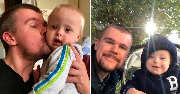 Pai decide criar bebê com síndrome de Down após mãe rejeitar criança