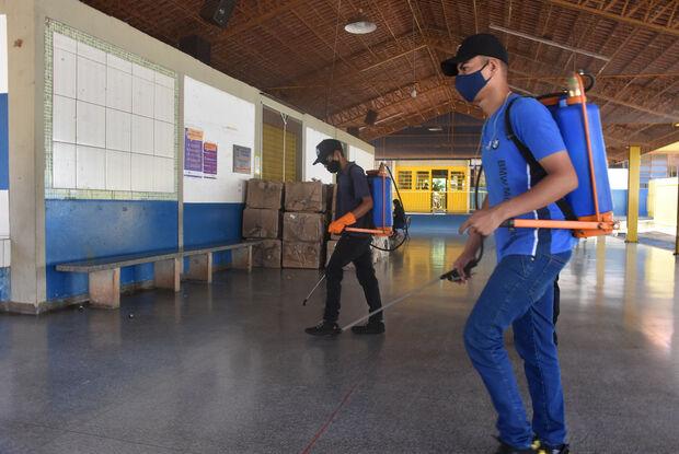 Escolas do município se preparam com protocolos de biossegurança para atender alunos em 2021