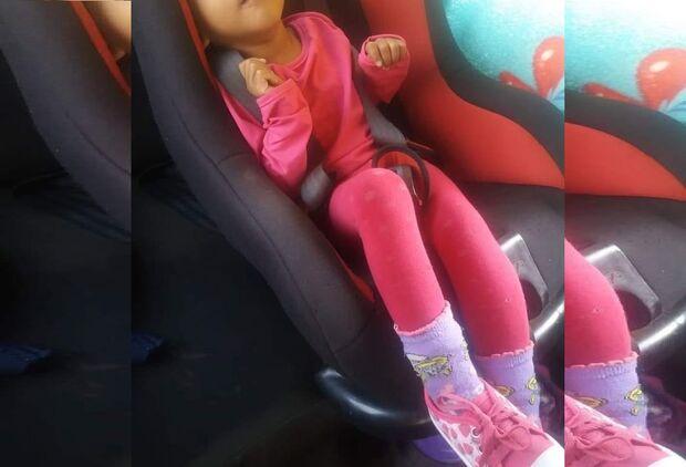 Carro usado para tratamento de criança com microcefalia é furtado e mãe pede ajuda para encontrar
