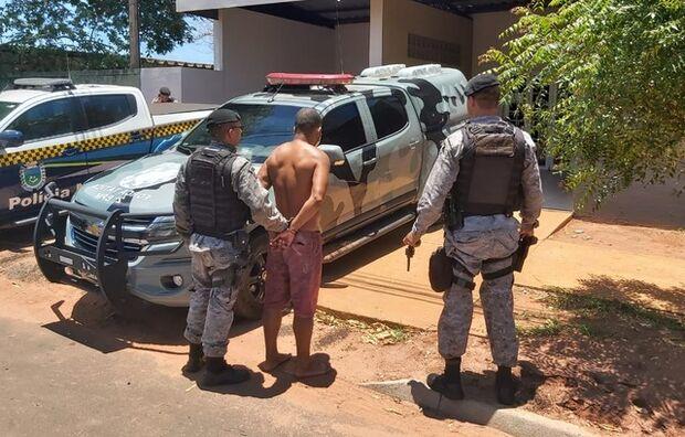 Força Tática prende homem que atirou na cabeça de ex-mulher