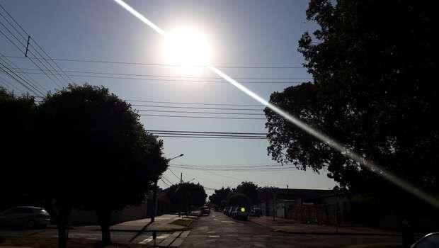 Calor 'vai ser de lascar' neste sábado, com máxima de quase 40º em Campo Grande
