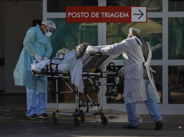Brasil tem 654 mortes por covid em 24h, diz Ministério da Saúde