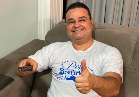 Exames mostram melhora de Fábio Trad, internado com covid-19 em Campo Grande