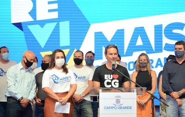 Marquinhos Trad anuncia 13º salário para 16 de dezembro