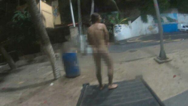 Depois de votar, mulher encontra desconhecido 'peladão' no quarto dela no Lageado