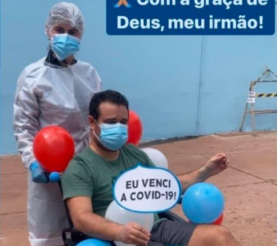 Fábio Trad relembra 'fundo do poço' com a covid e pede precaução contra a doença