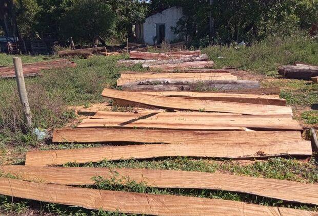 Comerciante é autuado em R$ 4,8 mil por armazenamento e exploração de madeira ilegalmente