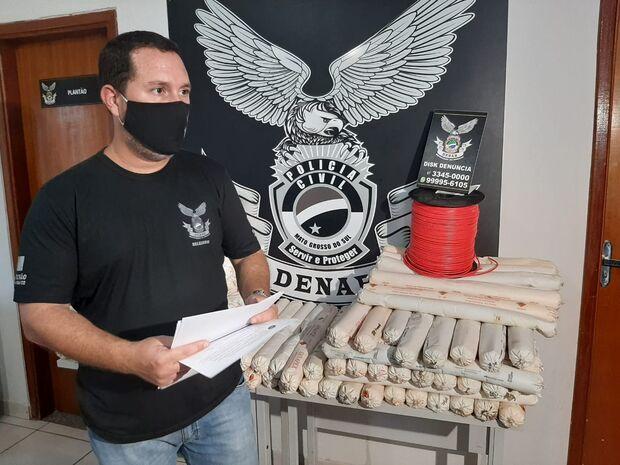 Família do crime é presa com 200kg de explosivos em Campo Grande