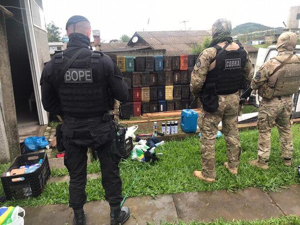 Assalto em Criciúma: Polícia prende 7° suspeito com explosivo no RS
