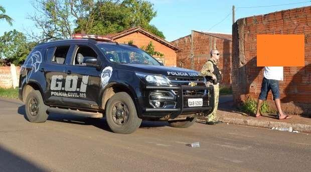 Cinco são presos em flagrante em investigação de tráfico de drogas no Guanandi