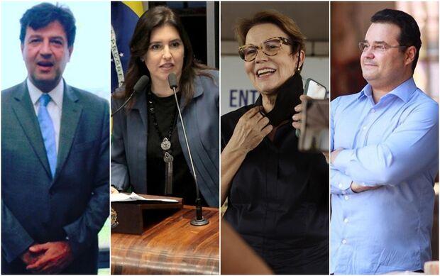 Políticos de MS são cotados para disputar presidência contra Bolsonaro em 2022