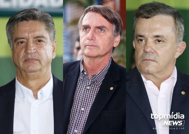 Dois deputados de MS já se posicionam a favor do impeachment de Bolsonaro