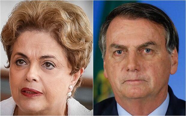 NA LATA: desejar morte de Lula e Dilma pode, Bolsonaro não