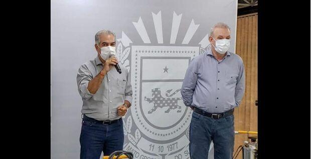 Governador e secretário de saúde participam de reunião com ministro Pazuello