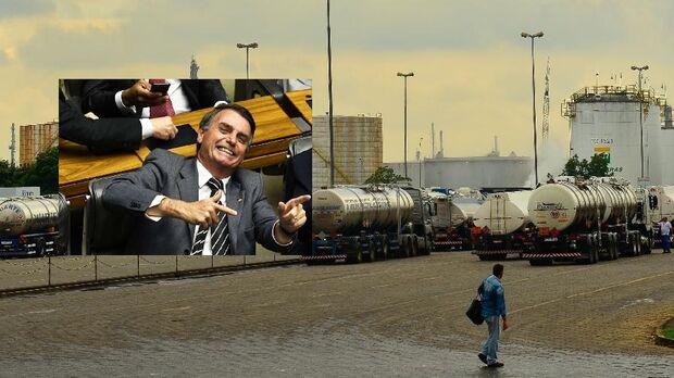 NA LATA: Bolsonaro promete multar caminhoneiros que apoiou em 2018