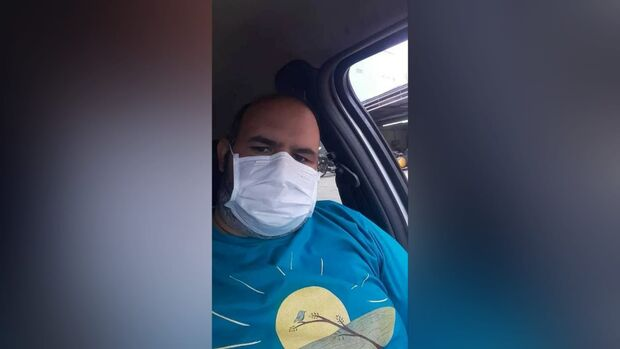Juliano se recuperou da covid-19, mas conta do hospital ficou em R$ 13 mil