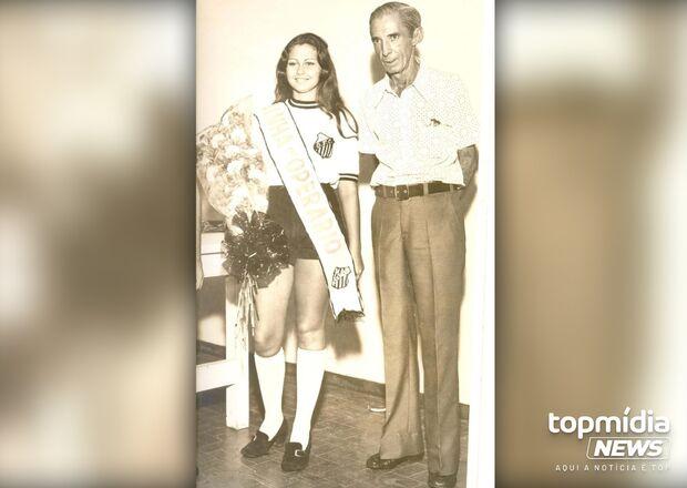 Foto de musa do Operário desperta saudades em quem viveu os 'bons tempos' em Campo Grande