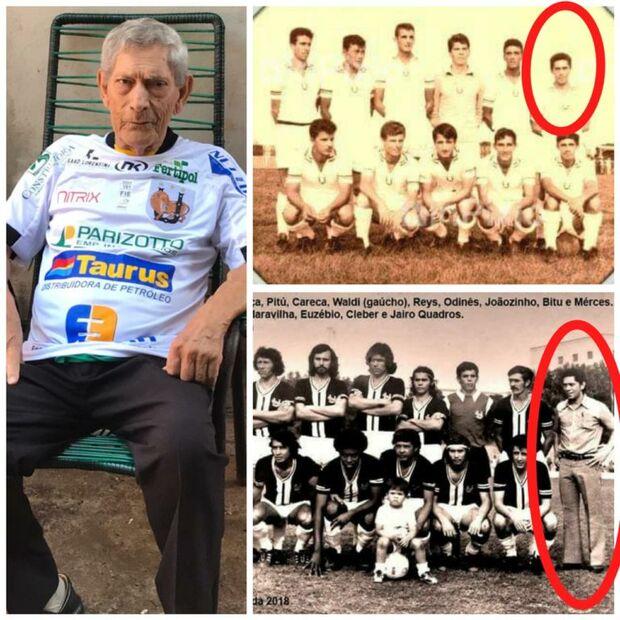 Conhecido no meio esportivo, Merces Dias morre aos 83 anos vítima de covid-19