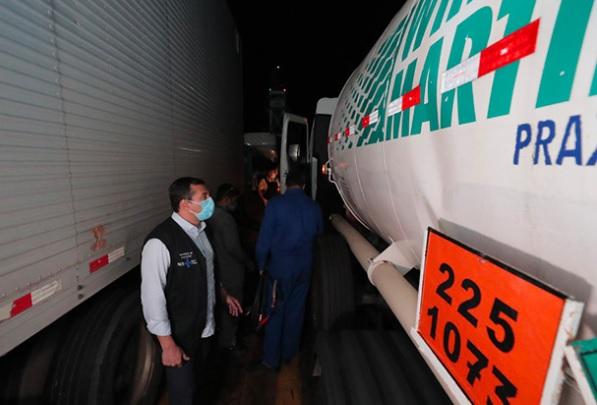 Belém envia carga com 70 mil metros cúbicos de oxigênio a Manaus