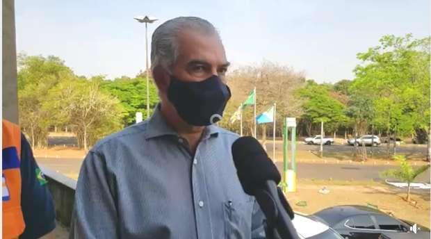 Nenhuma outra tarefa é mais urgente do que esta, diz Reinaldo Azambuja sobre imunização