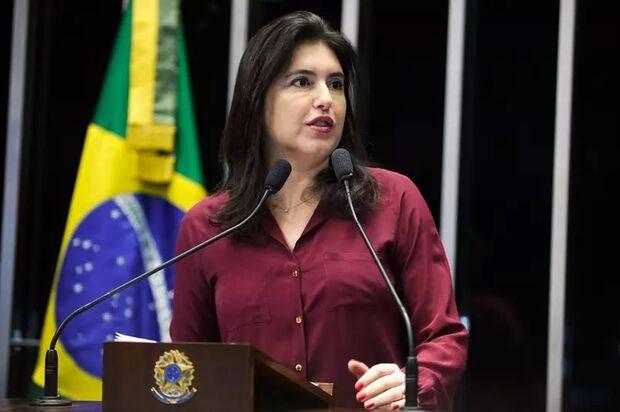 MDB escolhe Simone Tebet para disputar presidência do Senado