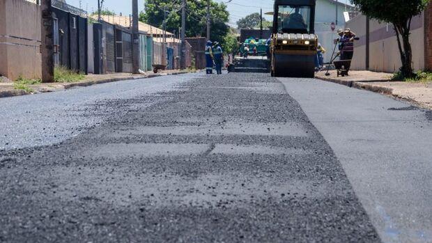 Prefeitura de Campo Grande anuncia pavimentação em 13 bairros