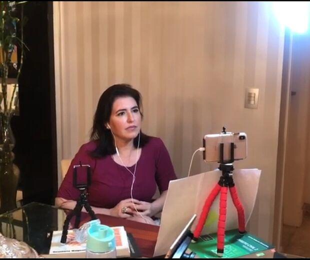 Simone Tebet diz que não é hora de falar em impeachment de Bolsonaro