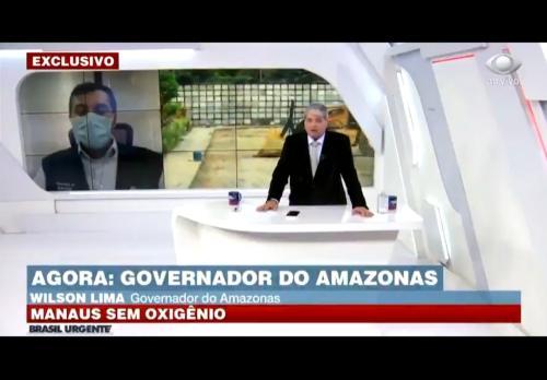 Governador disse que há comoção mundial com Amazônia, mas só Venezuela propôs ajuda