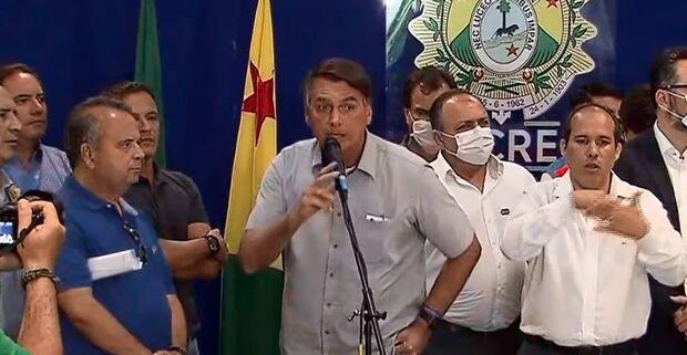 Bolsonaro diz que decisão sobre vacina da Pfizer é difícil: 'cláusulas abusivas'