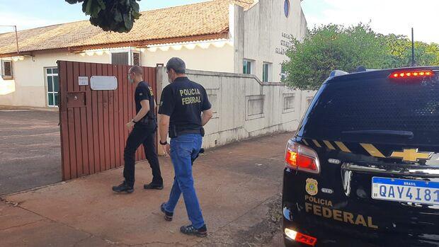 Vídeo: PF faz batida na seleta em Campo Grande