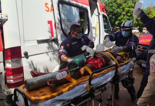 Mulher indígena é esfaqueada em rua de Dourados e suspeita é detida