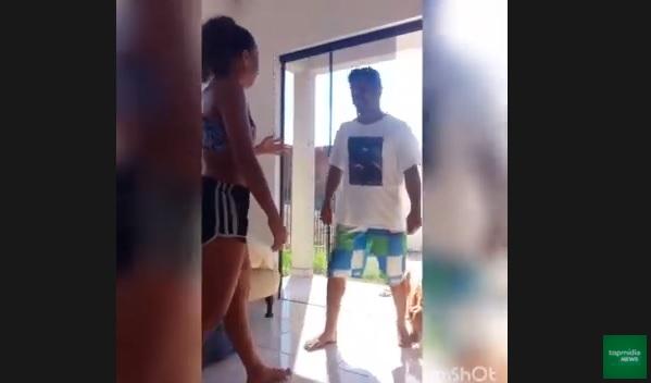 Vídeo: mulher é agarrada por estranho ao dançar em casa e o expulsa na base da porrada