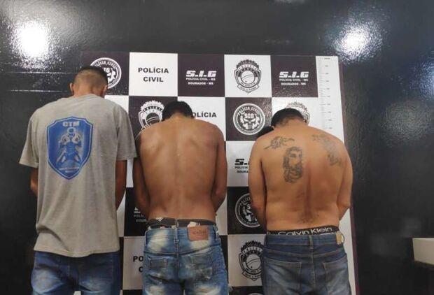 Trio é preso tentando furtar agência dos Correios de Itaporã