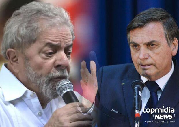 Datafolha: para as eleições, Lula tem vantagem confortável para Bolsonaro