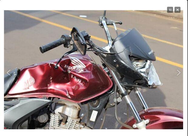 Mulher é espancada e tem moto destruída por sair com amigo em Campo Grande