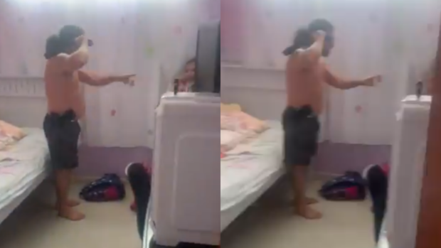 Homem surta, pega faca e ameaça matar mulher e filho dentro de casa em Dourados