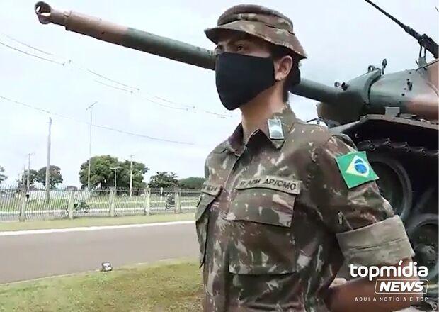 No Dia Internacional da Mulher, CMO faz homenagem para mulheres militares